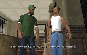 The Green Sabre GTA San Andreas (séparation)