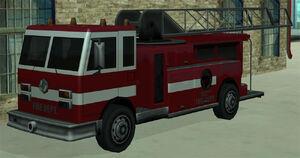 Pompiers GTA San Andreas (vue avant)