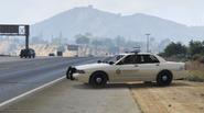 LSCSD patrouille