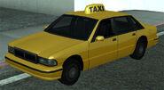 Taxi vue avant GTASA