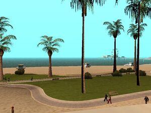 Пляж С-М