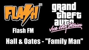 "GTA Vice City Stories - Flash FM Hall & Oates - ""Family Man"""