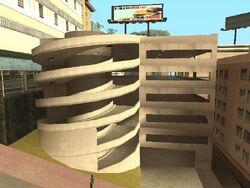 Parking wielopiętrowy w East Beach (SA)