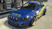 Sultan RS modifiée GTA O vue avant