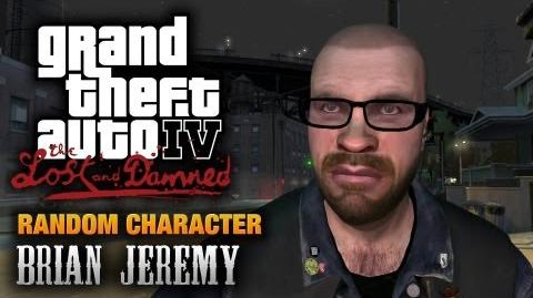 GTA The Lost and Damned - Random Character 3 - Brian Jeremy (1080p)