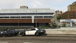 LSPD Vinewood Station - GTA V