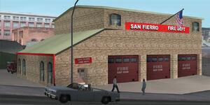 Remiza strażacka w San Fierro (SA)