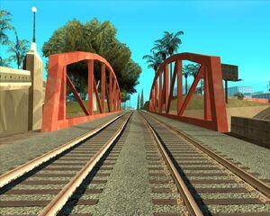 2а. Мост над автострадой. Восточный Лос Сантос