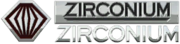Zirconium badges