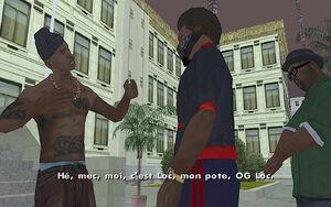 OG Loc (mission) GTA San Andreas (milieu)