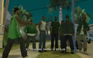 House Party GTA San Andreas (objectif)