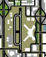 Las Venturas Airport GTA San Andreas (carte)