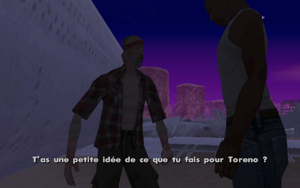 Black Project GTA San Andreas (mise en garde)