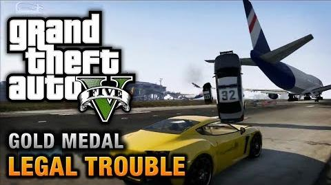 GTA 5 - Mission 66 - Legal Trouble 100% Gold Medal Walkthrough