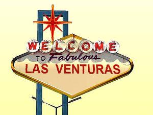 Las Venturas GTA San Andreas (panneau)