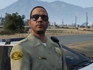 Sheriff à Sandy Shores