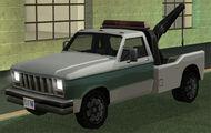 Towtruck GTA San Andreas (vue avant)