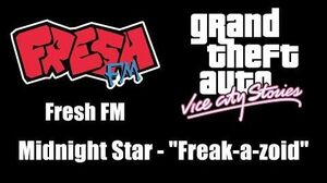 "GTA Vice City Stories - Fresh FM Midnight Star - ""Freak-a-zoid"""