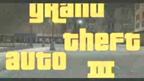 Grand Theft Auto 3 trailer