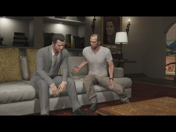 Michael and Trevor-Bury The Hatchet-GTA 5