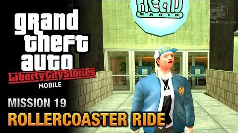 GTA Liberty City Stories Mobile - Mission 19 - Rollercoaster Ride