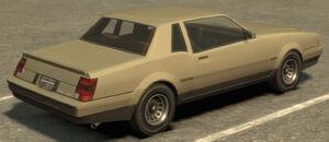 Sabre GTA IV (vue arrière)