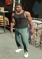 SubUrban (V - Zielone spodnie dresowe Kingz)