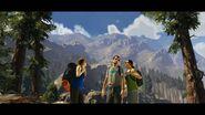 Туристы на горе близ Лос-Сантоса