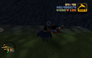 GTA III Dead criminal