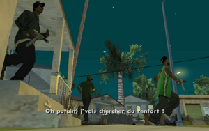 House Party GTA San Andreas (fuite)