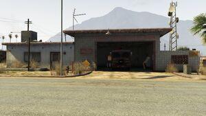 Los Santos Fire Station in Sandy Shores