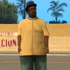 نموذج شخصية بيج سموك الآخر وفيه يبدو بالأصفر.