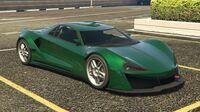 Itali GTB Custom GTA Online (côté avant droit)