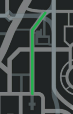 San Jacinto Avenue (IV - mapa)