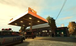 Station-service RON GTA IV (Big Horn Drive)