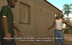 Tagging Up Turf GTA San Andreas (Carl)