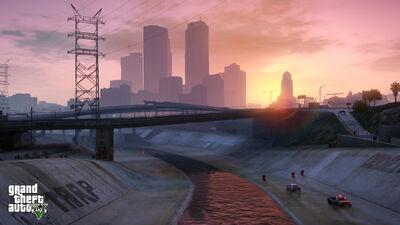 Река Лос-Сантос в ГТА 5