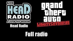 GTA Liberty City Stories - Head Radio Full radio