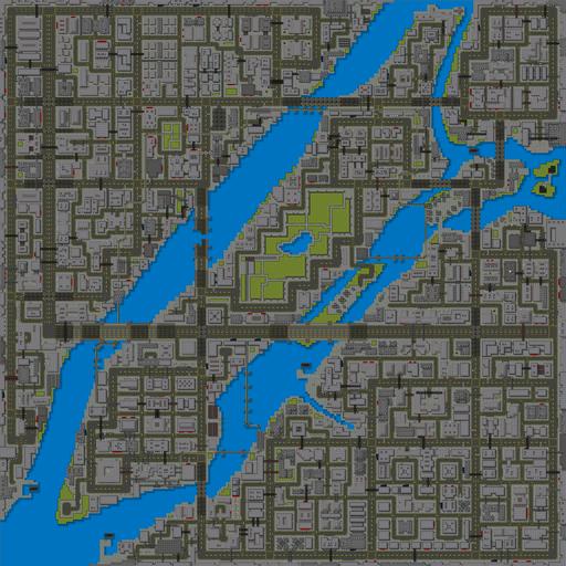 Liberty City (GTA1) (mapa - 2)