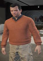 Ponsonbys (V - Pomarańczowy sweter)