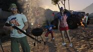 Feux artifices jour independance GTA O
