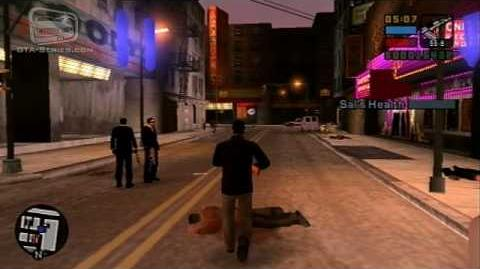 GTA Liberty City Stories — Walkthrough — Mission 27 — The Guns of Leone