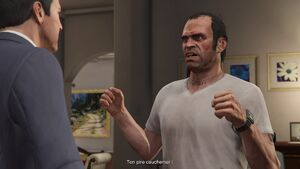 Grand Theft Auto V Tête d'enterrement (menace)