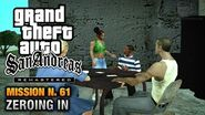 GTA San Andreas Remastered - Mission 61 - Zeroing In (Xbox 360 PS3)