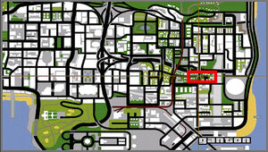 Grove Street GTA San Andreas (carte)