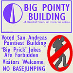 Big Pointy Building GTA San Andreas (écriteau)