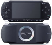 PSP-Console-back-and-front-black