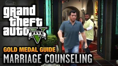 GTA 5 - Mission 6 - Marriage Counseling 100% Gold Medal Walkthrough