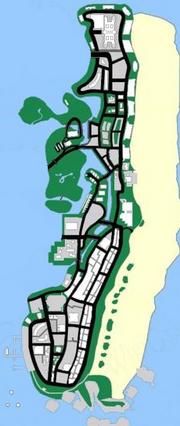 Vice Beach (VC) (mapa)