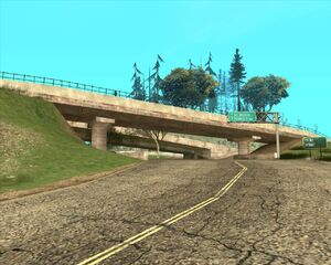3. Мост над автострадой. Туманный округ